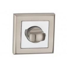 T7 SN/CP накладка на замок под WC матовый никель/полированый хром