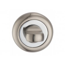 T8 SN / CP накладка под WC мат.никель / полир.хром
