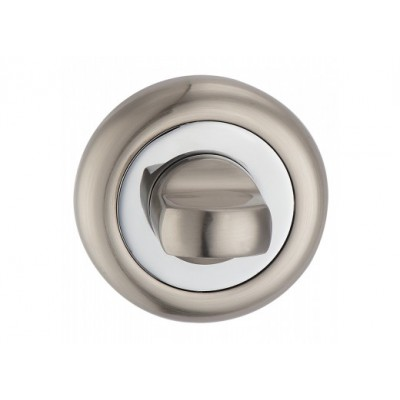 T8 SN / CP накладка под WC мат.никель / полир.хром - t8-sn-cp