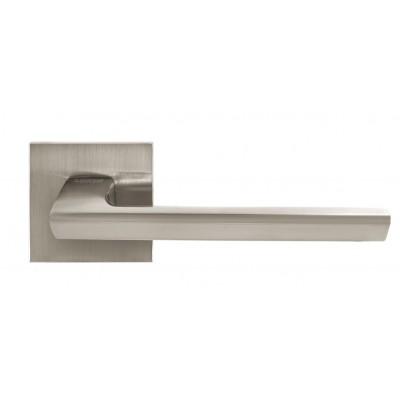 Ручка для дверей на розетке A-2021 SN матовый никель - A-2021 SN