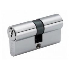 A5E 30/30 CP Евроцилиндр англ. ключ / англ. ключ полированный хром