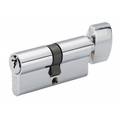 A5E 30 / 30T CP Евроцилиндр англ. ключ / тумблер полированный хром - a5e-30-30t-cp