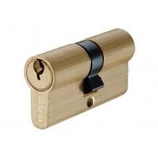 P6E30 / 30 SB цилиндр англ. ключ матовая латунь