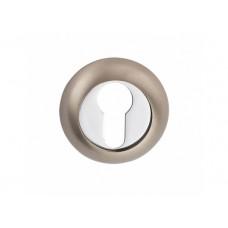 E9 SN / CP накладка под цилиндр матовый никель / полированный хром