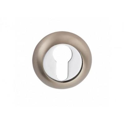 E9 SN / CP накладка под цилиндр матовый никель / полированный хром - e9-sn-cp