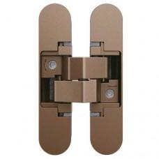 AN 140 3D Петля для дверей, цвет старая бронза