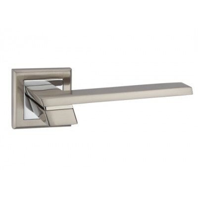 Z-1324 SN/CP ручка для дверей на розетке мат. никель/пол.хром - z-1324-sncp