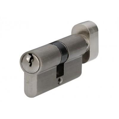 P6E30 / 30T SN цилиндр англ.ключ / тумблер мат. никель - p6e30-30t-sn