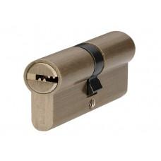 P6P35 / 35 SB цилиндр перфо. ключ матовая латунь
