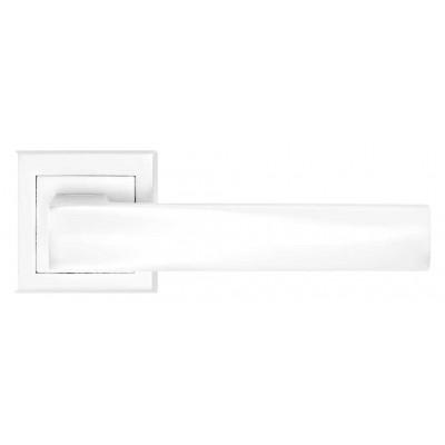 Дверная ручка A-2010 белая ручка для дверей на розетке - a-2010-white
