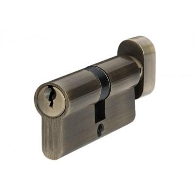 P6E30 / 30T AB цилиндр англ.ключ / тумблер старая бронза - p6e30-30t-ab
