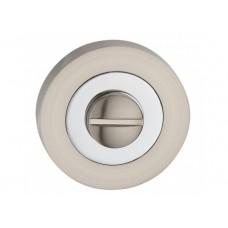 T2 SN / PC накладка под WC мат.никель / полир.хром