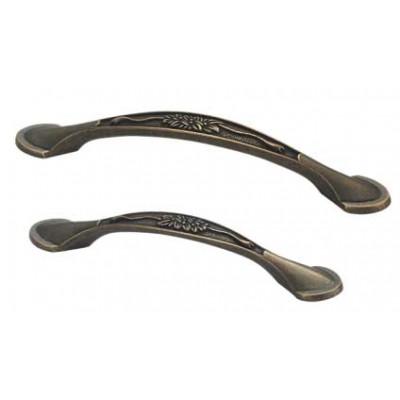 Ручка D-1013-96 MBAB для мебели матовая темная античная бронза - d_1013_96_mbab
