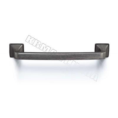 Ручка D-1007-128 MAN для мебели матовый античный никель - d_1007_128_man