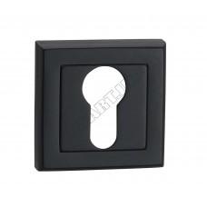 E8a BLACK накладка на замок под цилиндр, черная