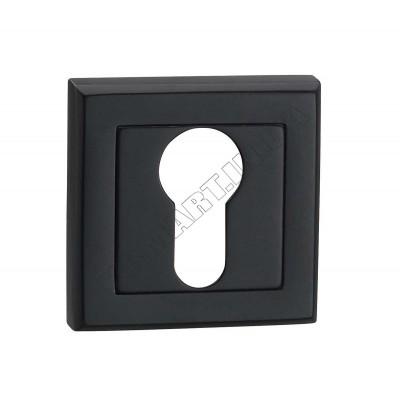 E8a BLACK накладка на замок под цилиндр, черная - e8a-black