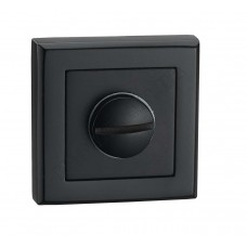 T7a BLACK накладка на замок под WC, черная