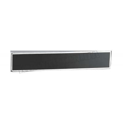 Черная декоративная вставка для ручки Z-1440 - dekor-vstavka-chernaya_z-1440