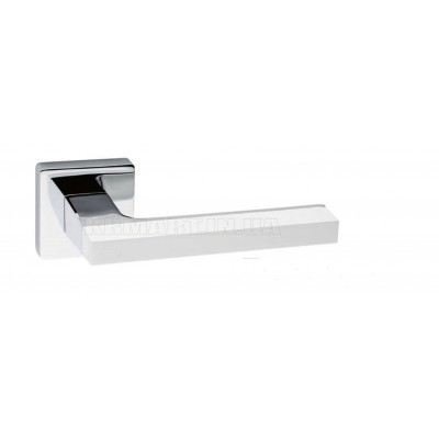 Дверная ручка AZUR HA 104RO11 CR-CR/AL7 white - HA 104RO11 CR-CR/AL7 white