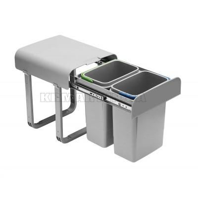 мусорное ведро tira 2 x 8 л - pb-90144100pct