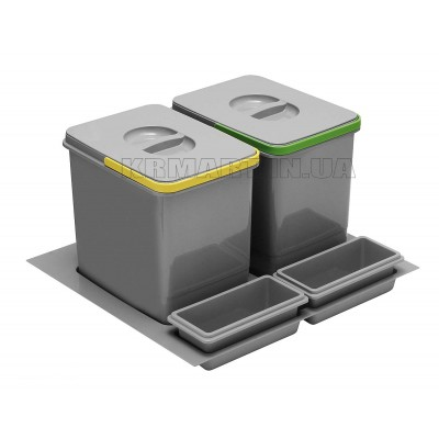 сегрегатор multino 600 мм 2x15л + 2 емкости - pb-91104100b5