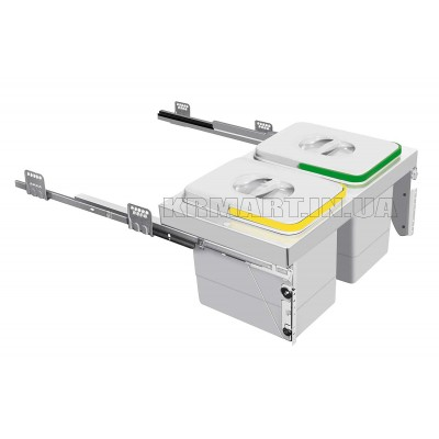 сегрегатор unito без крышки 2 х 16 л - pb-91554160v
