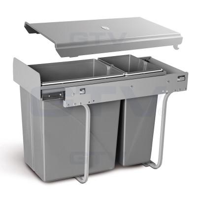 сегрегатор для кухонных шкафов 300 мм 20 + 10 л - PB-45-002010