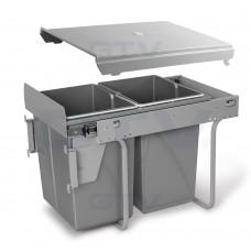 сегрегатор для кухонных шкафов 400 мм 2 х 20 л с креплением
