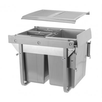 Сегрегатор PRACTI ECO 450 20 + 2х10 л высокий c передним креплением - PB-M202X1060MB
