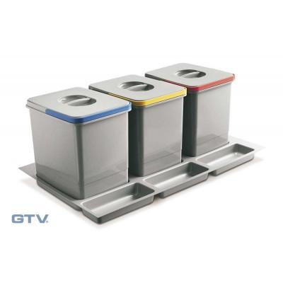 сегрегатор multino 800 мм 3 x 15 л - PB-91634100B5
